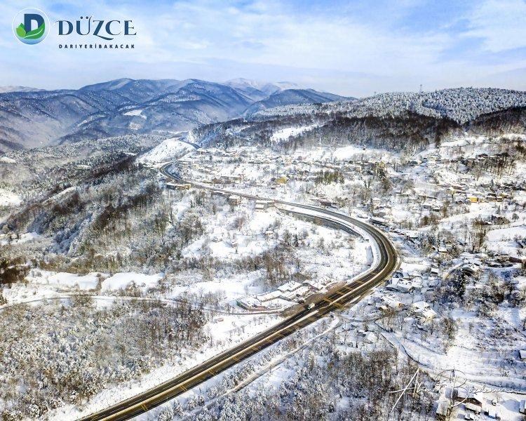 Düzce Kaynaşlı Kar Kış Fotoğrafları 2021