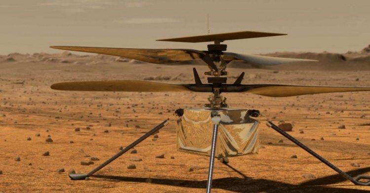 Mars'taki ilk helikopterin ilk mesajı Dünya'ya ulaştı!