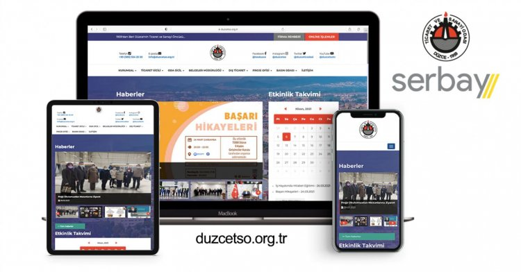 DTSO Web Sitesi Yenilendi