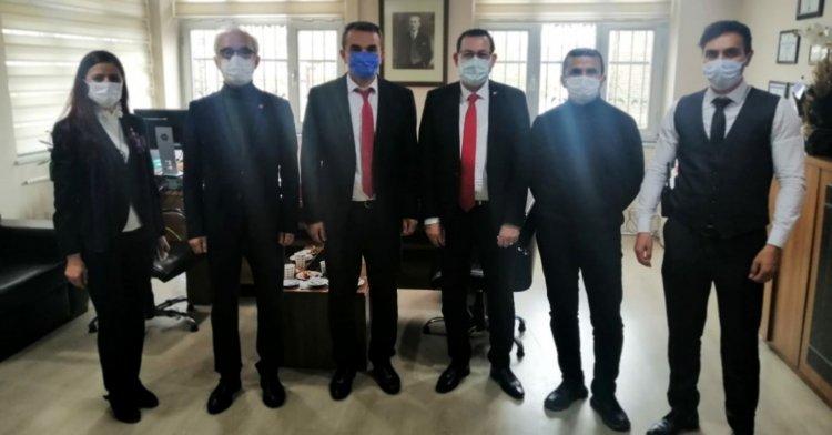 CHP'den Polis Haftası ziyareti!