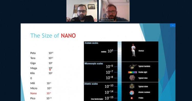 Nano Parçacıklar Konuşuldu