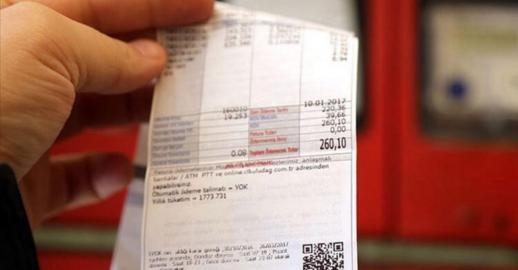 Elektrik ve doğalgaz faturalarının son ödemeleri erteleniyor!