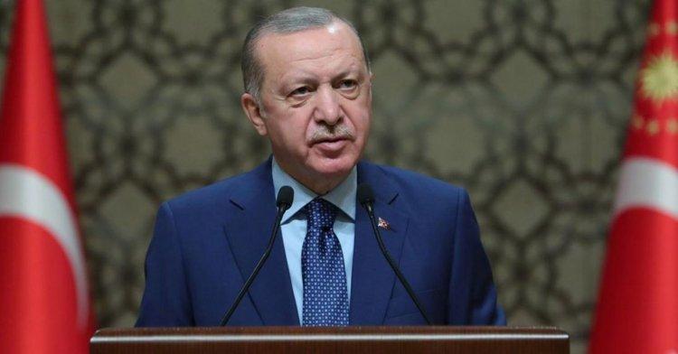 Erdoğan: Sıkıntıya düşen olduysa helallik istiyoruz!