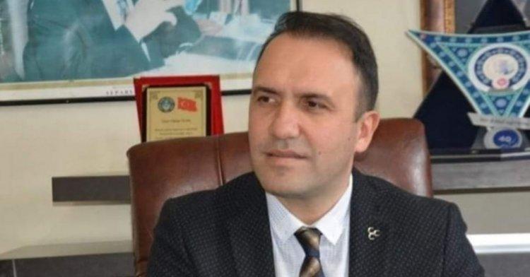 MHP İLÇE BAŞKANI İSTİFA ETTİ..