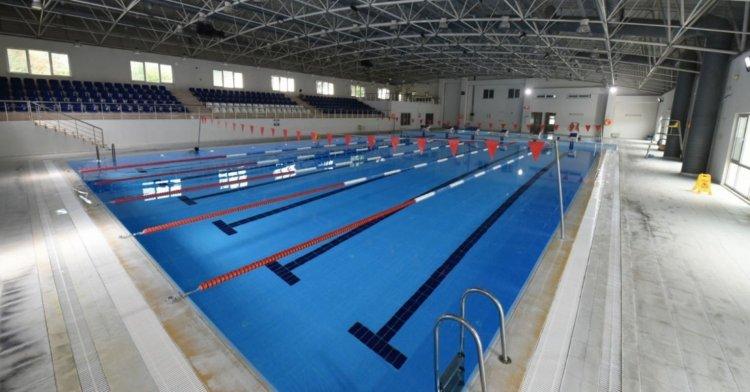 Üniversitede yüzme havuzu açıldı!