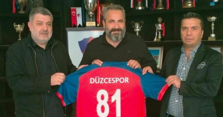 Düzcespor'un yeni isim sponsoru belli oldu!