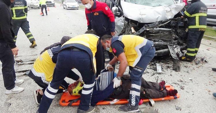 Çoban'da feci kaza! 1 ölü 3 yaralı