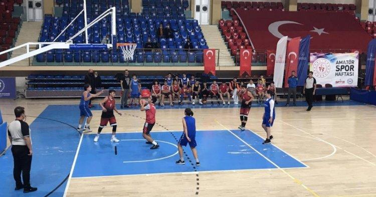 Basketbol turnuvası devam ediyor!